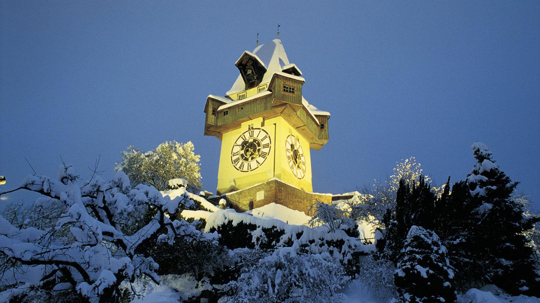 Башня с часами Уртурм, гратц