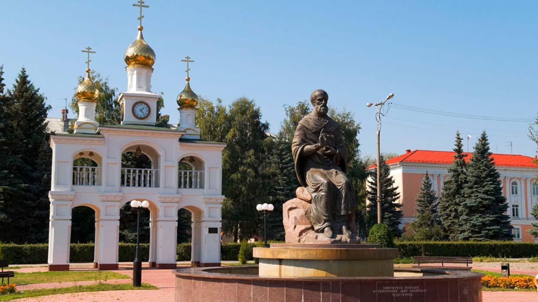 памятники в тольятти